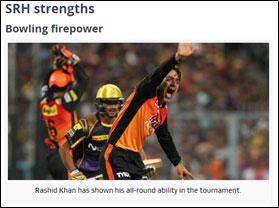 SRH-strengths