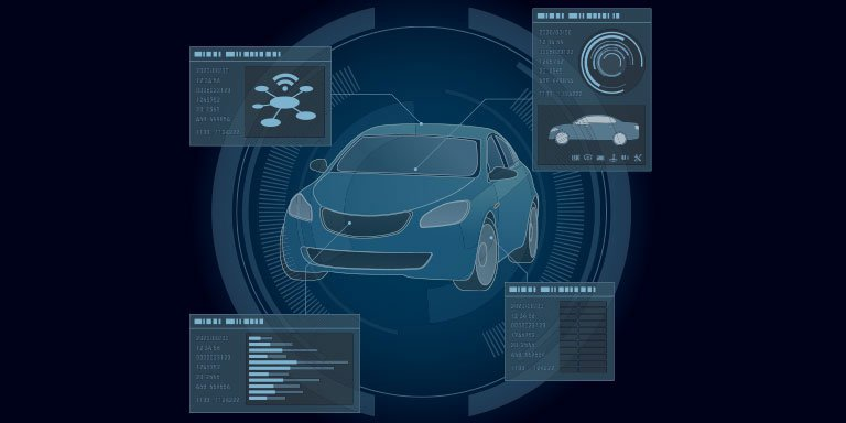 automobile-abstract-interface