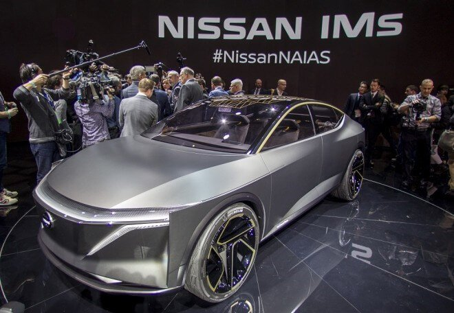 Nissan concept electric vehicle