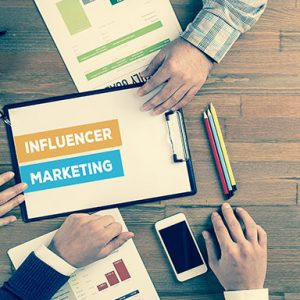 Determining ROI on influencer marketing