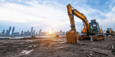 Construction equipment market in India