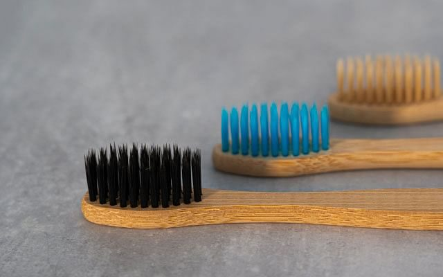 green consumerism: bamboo toothbrush