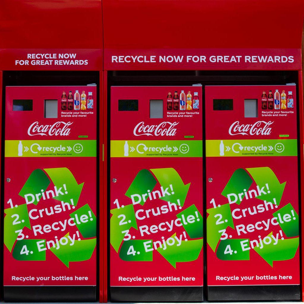 Coca-Cola's reverse vending machines