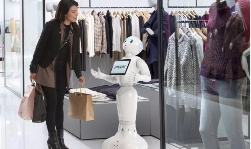 softbank pepper robot technology