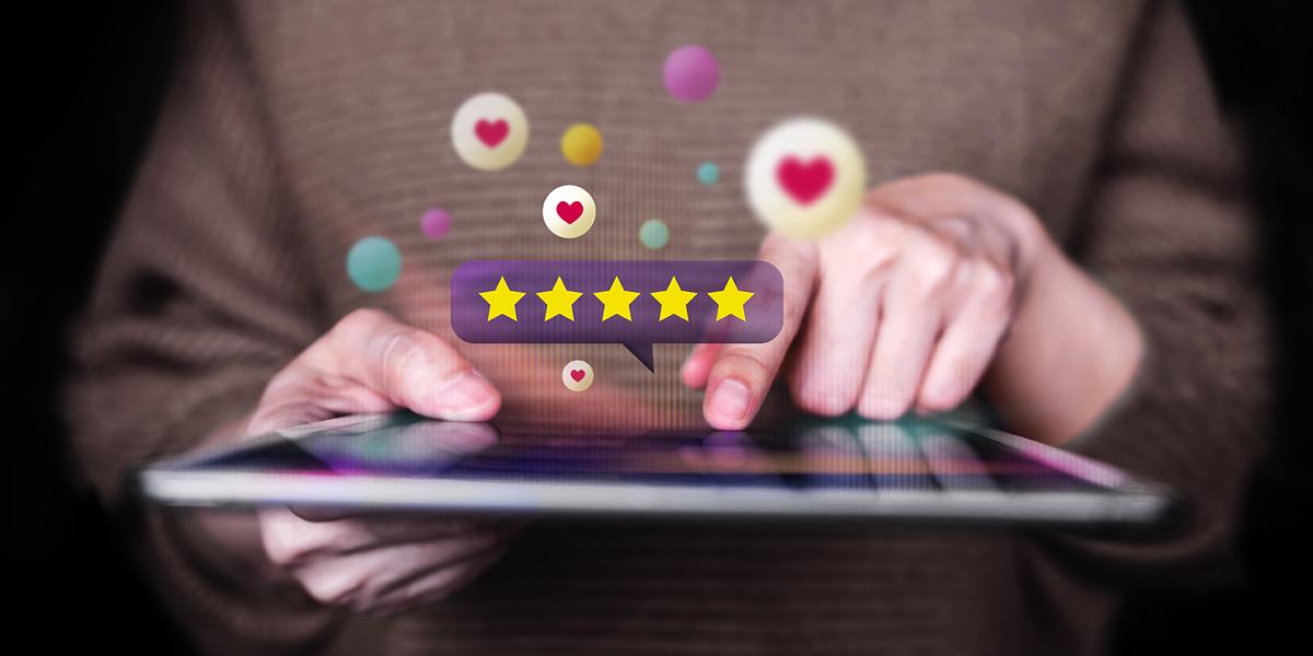 Customer review analytics