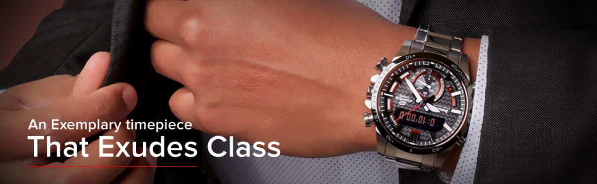 an exemplary timepiece