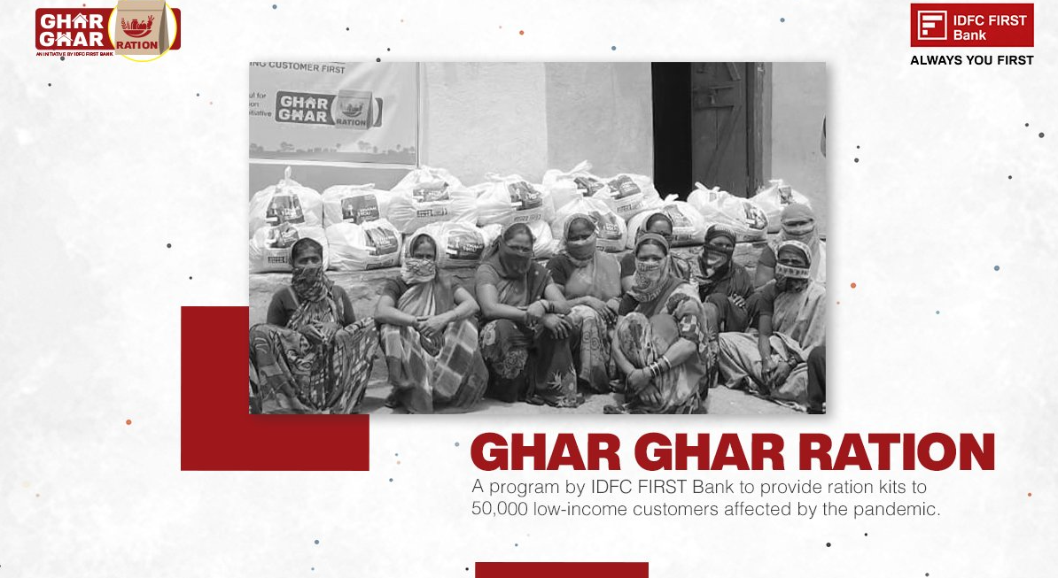 Ghar Ghar Ration IDFC- banking recovery post covid-19